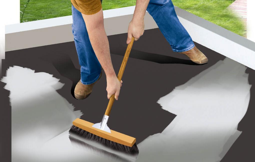 Kellősítő használata beton felületre