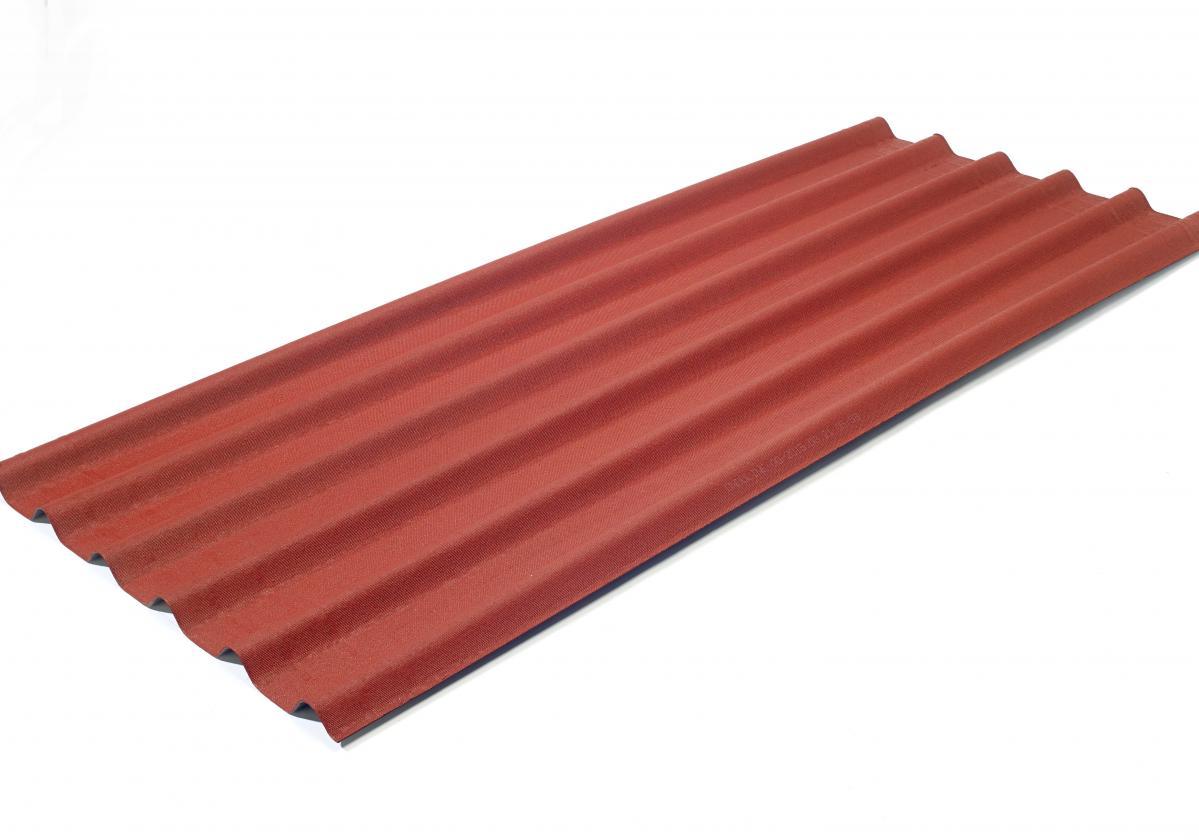 Onduline Easyfix intenzív vörös hullámlemez