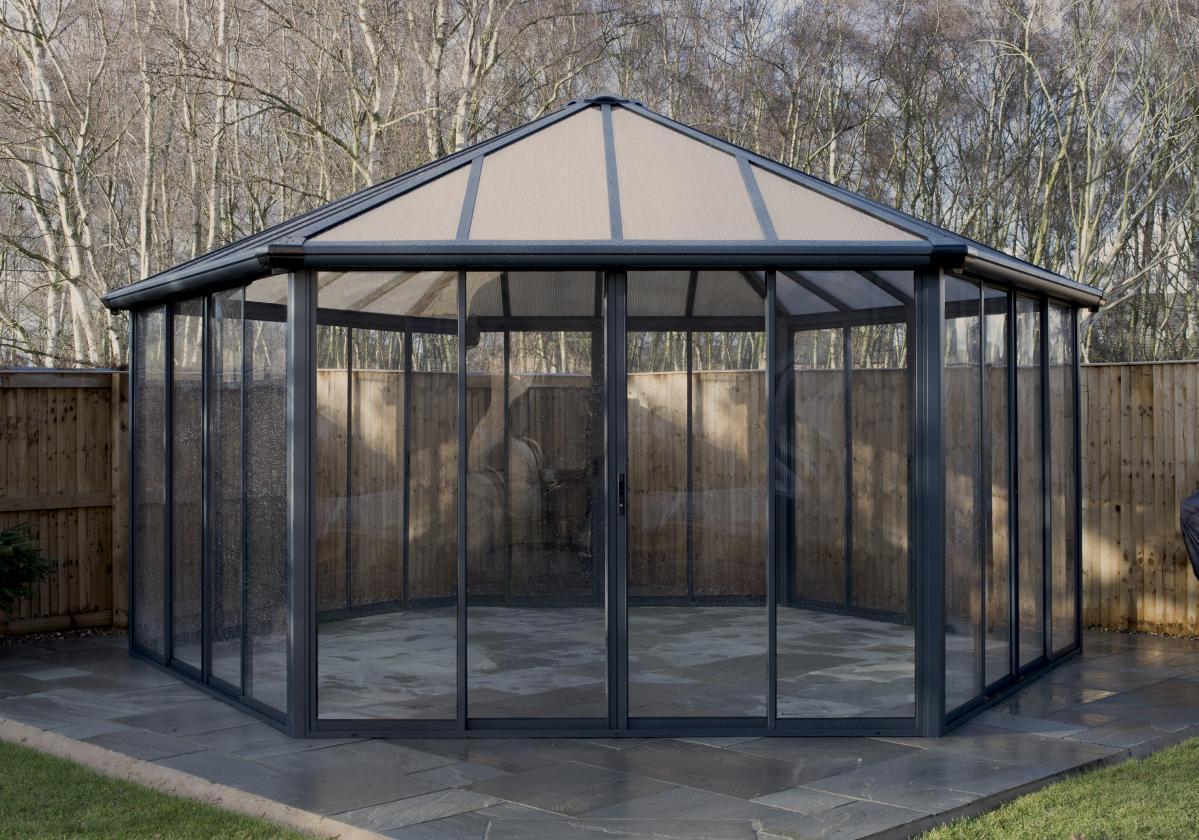 Garda zárt kerti pavilon