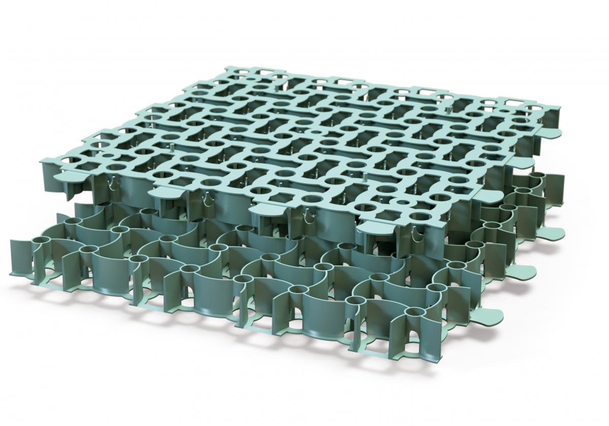 Garden Puzzle műanyag gyeprács
