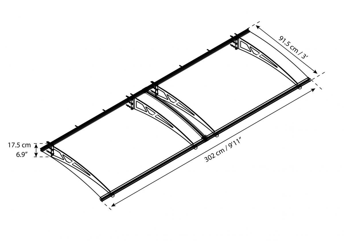 Altair 3000 szerkezeti rajz