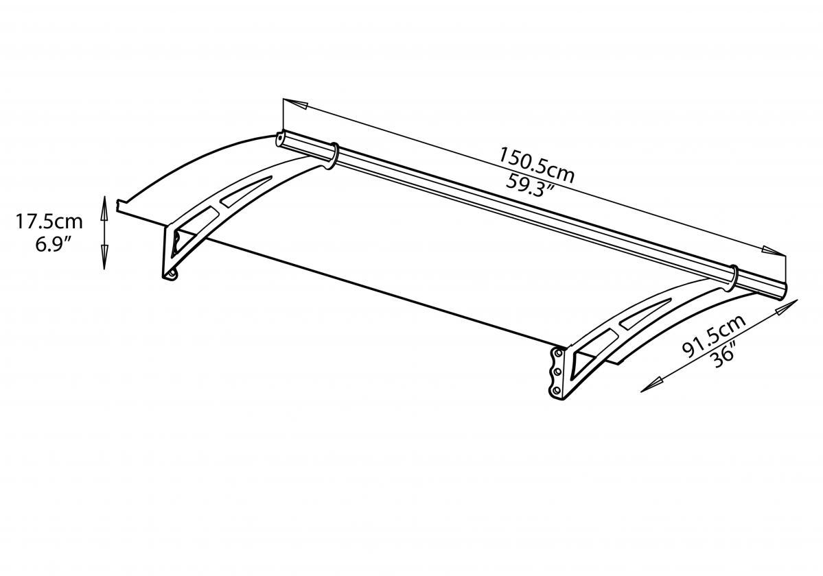Aquila 1500 előtető szerkezeti rajz