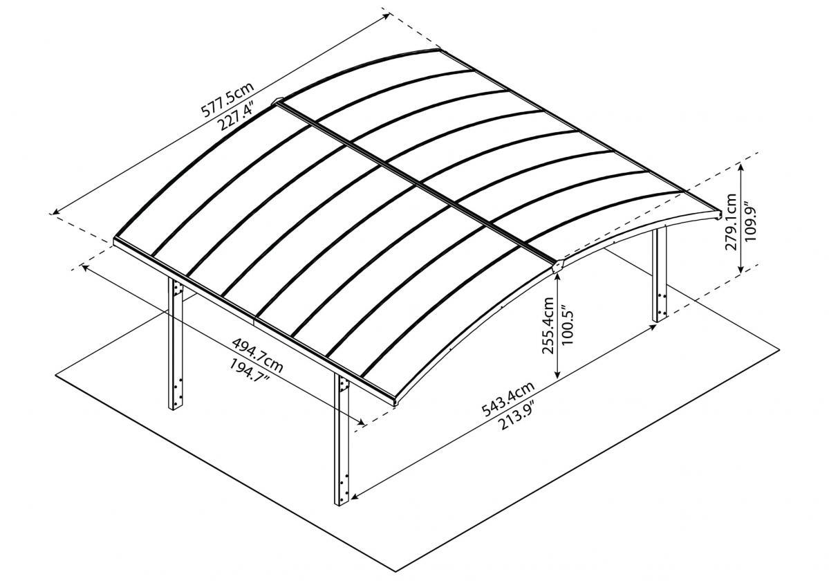 Arizona 5000 dupla összeépítés szerkezeti rajz