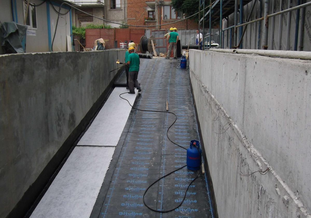 APP P3 mm alap vízszigetelése