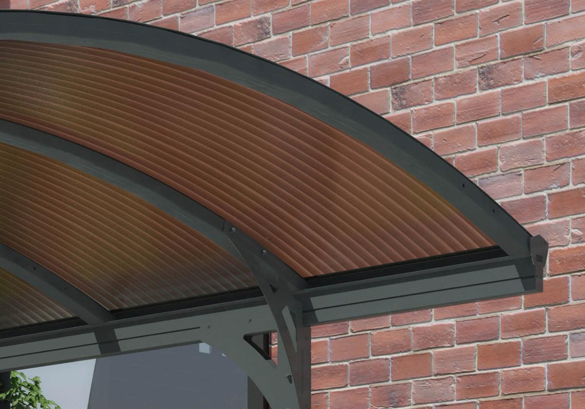 Bronz polikarbonát panelek