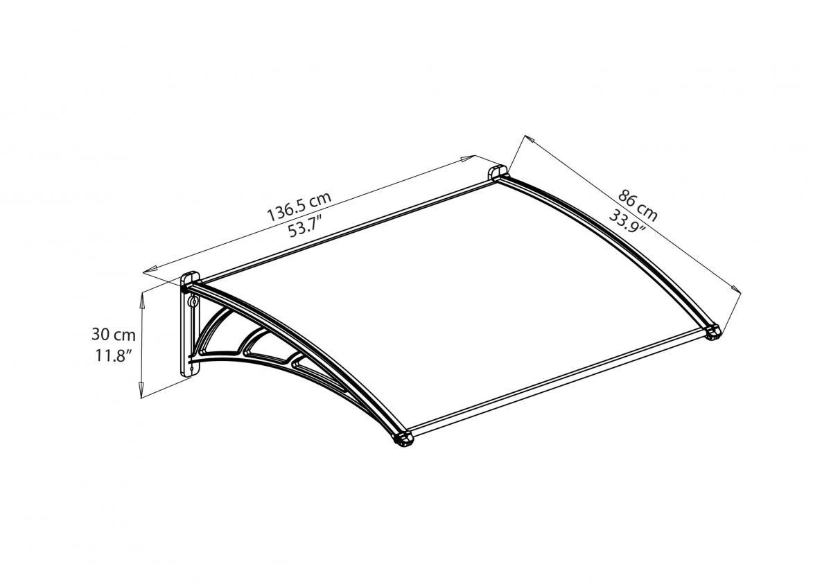 Neo 1350 előtető szerkezeti rajz