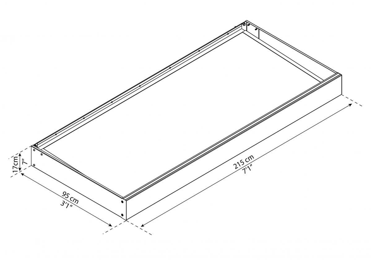 Sophia 2150 szerkezeti rajz
