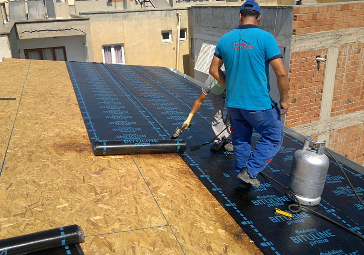 GV 45E tetőszigetelés