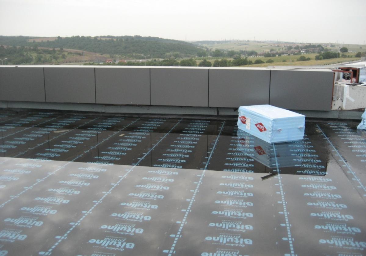 Bituline APP P4 Műegyetem tetőszigetelése- Törökország 2000 m2
